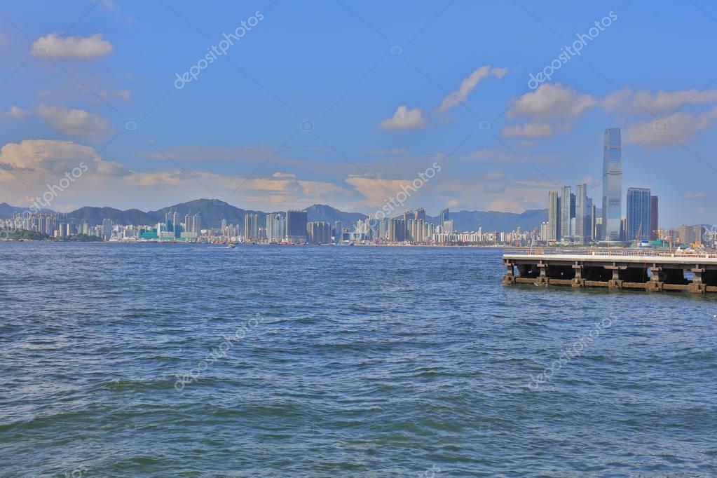 Фотообои the View of Belcher Bay, hong kong