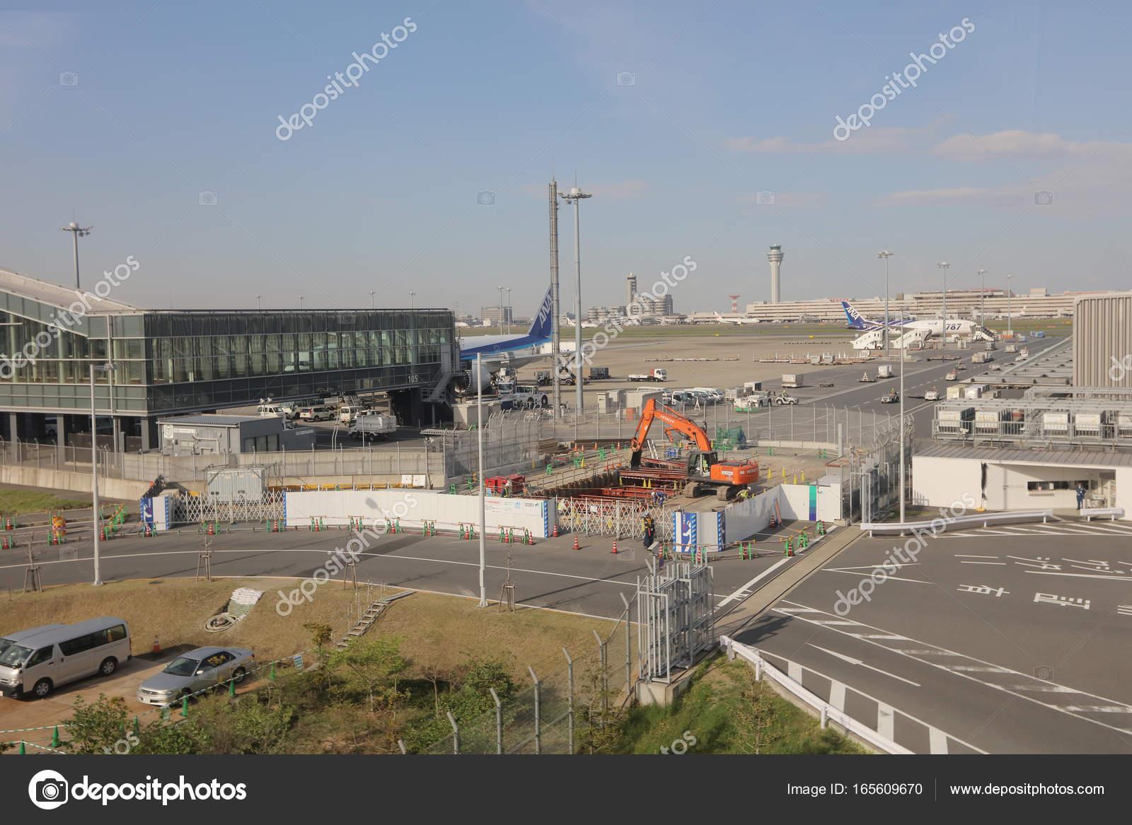 Aeroporto Tokyo : Aeroporto internazionale di haneda a tokyo giappone u foto
