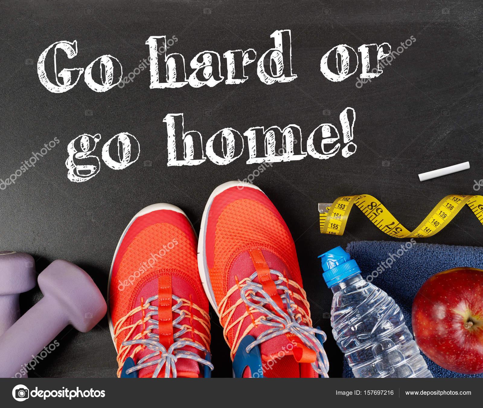 Mensagem Motivacional De Esporte Fotografias De Stock