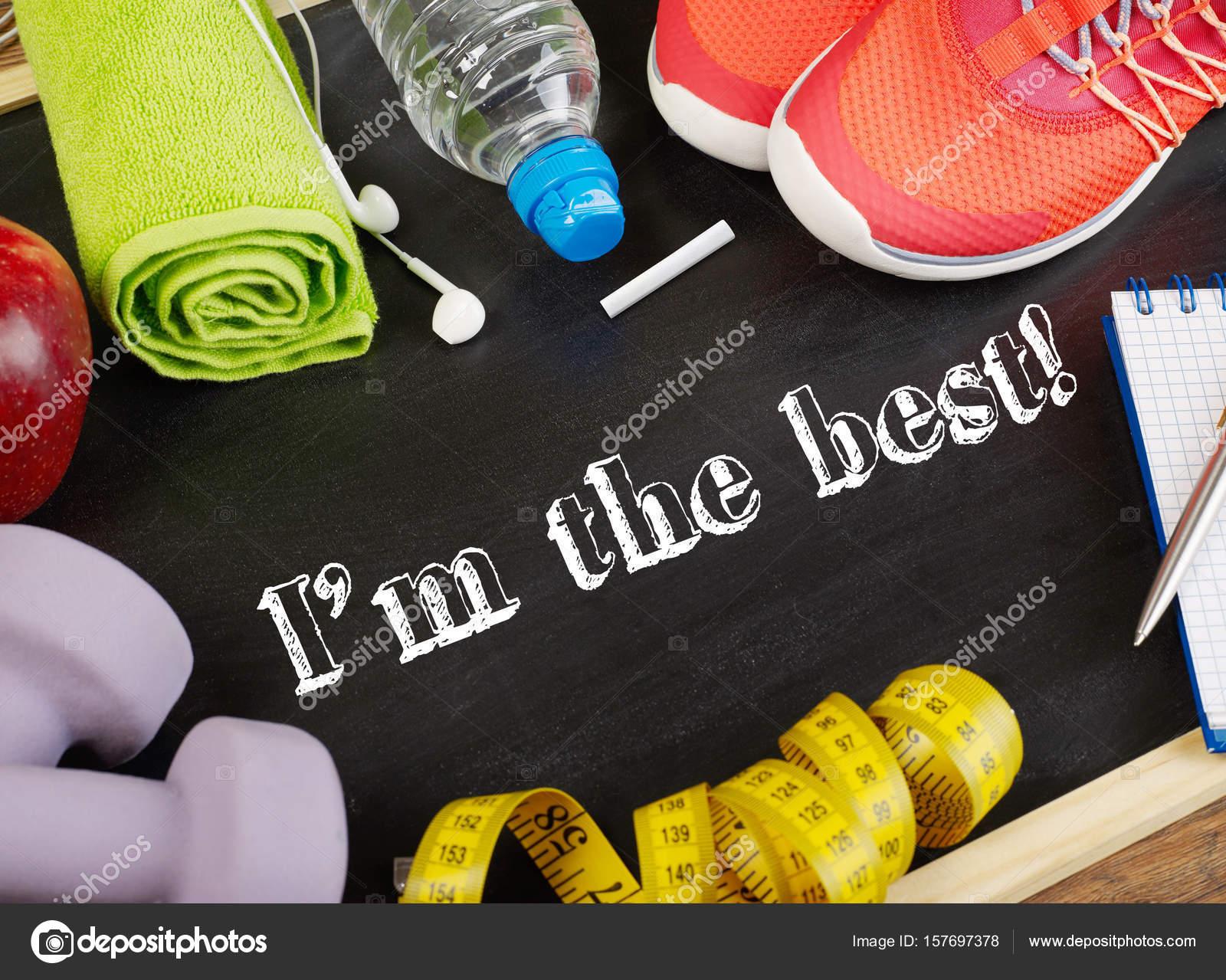 Mensagem Motivacional De Esporte Stock Photo Goir 157697378