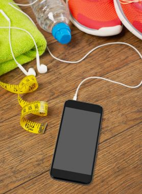 Mobile phone and sport equipment