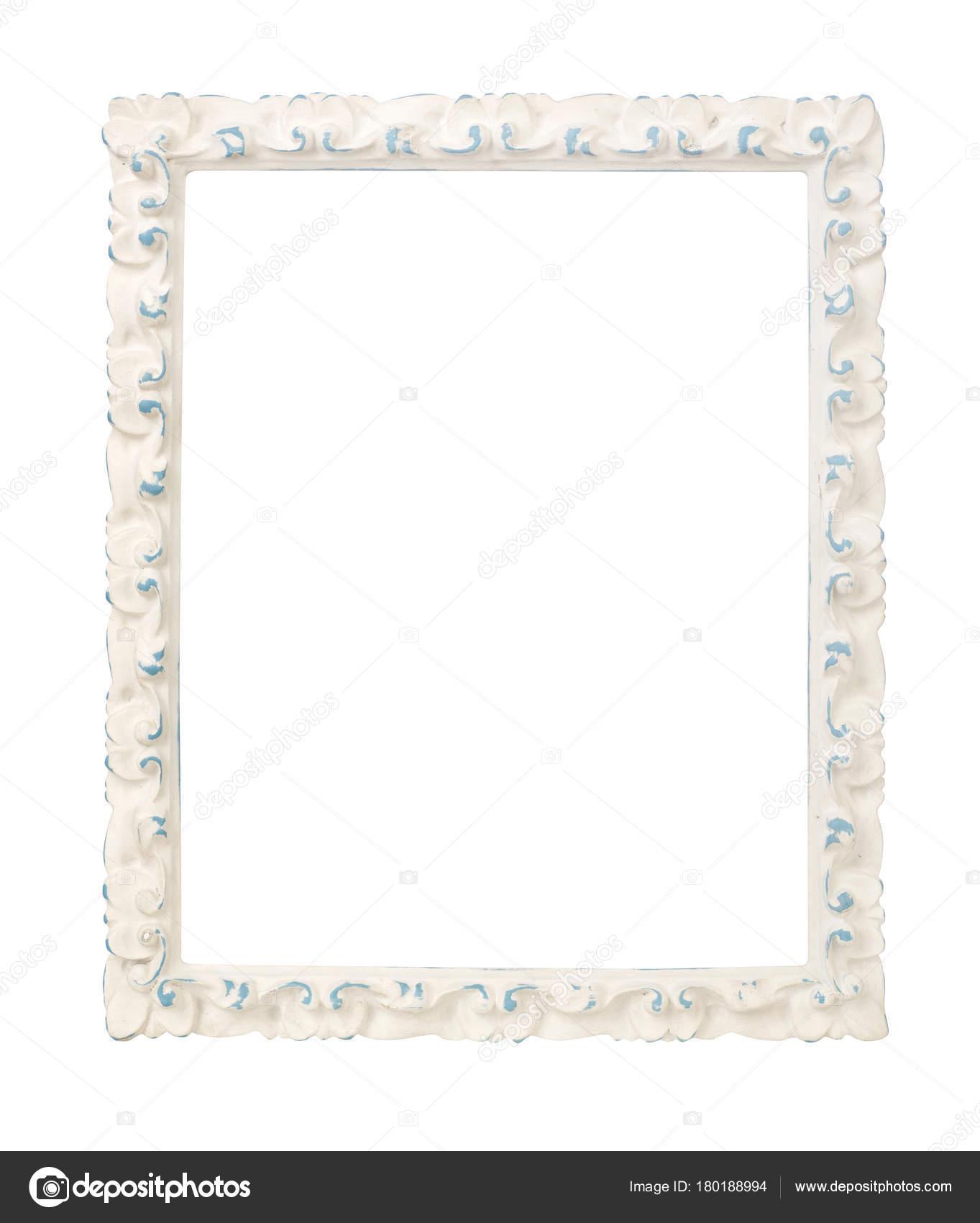 Marco blanco sobre blanco — Foto de stock © Goir #180188994