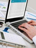 Home finances concept