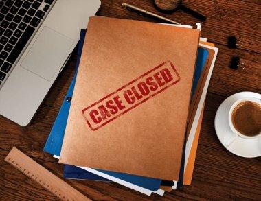 Case closed folders
