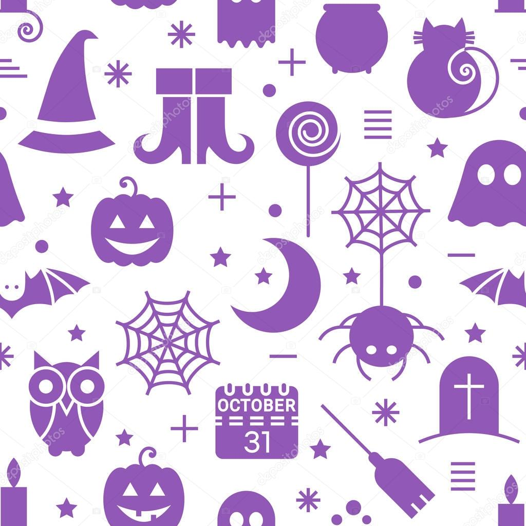 patrones de halloween sin fisuras — Vector de stock © ekmelica.gmail ...