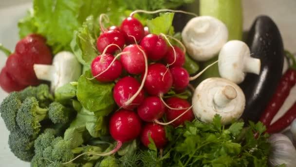 syrové zeleniny na stůl