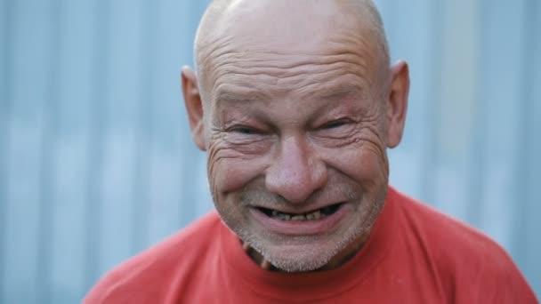 Drunk Man Making Funny Face Stock Video Aj2kramblerru 156733072