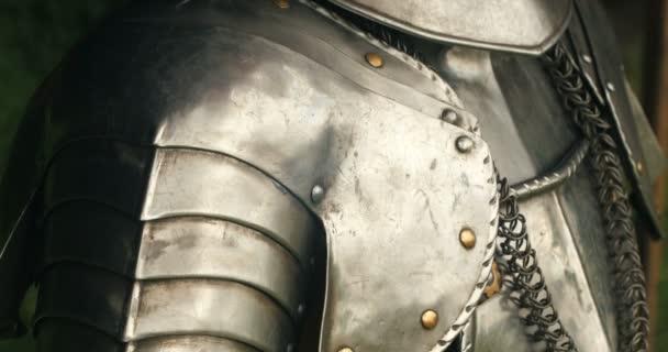 Medieval metal armor