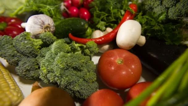 uspořádání zeleniny