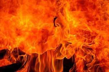 "Картина, постер, плакат, фотообои ""beautiful fire blaze"", артикул 153016870"