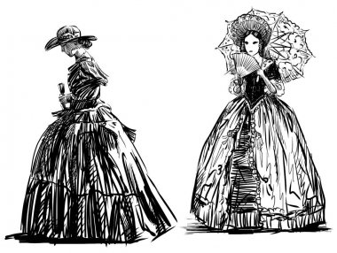 sketches of the ladies of the 19th century