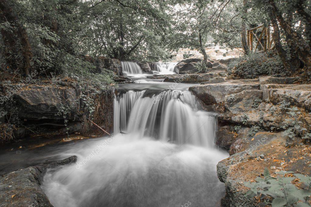 Monte Gelato waterfalls