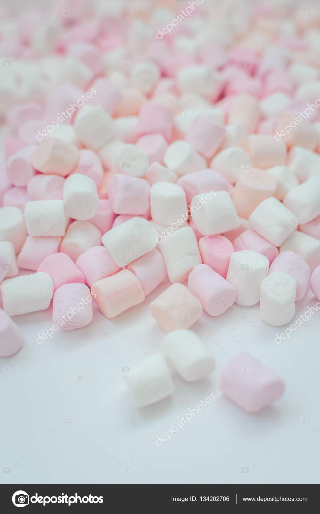 Colorful Mini Marshmallows Background Stock Photo Nellisyr Marshmallow