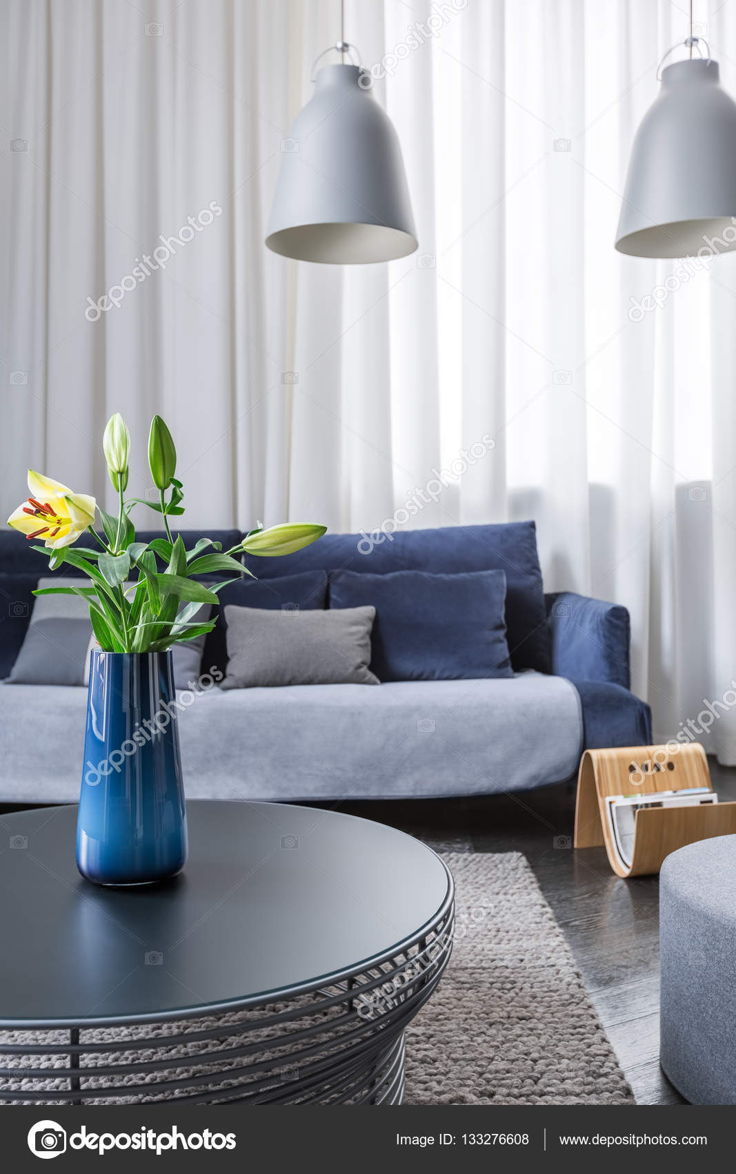 einfache Wohnzimmer — Stockfoto © in4mal #133276608