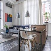 Obývací pokoj s křeslem