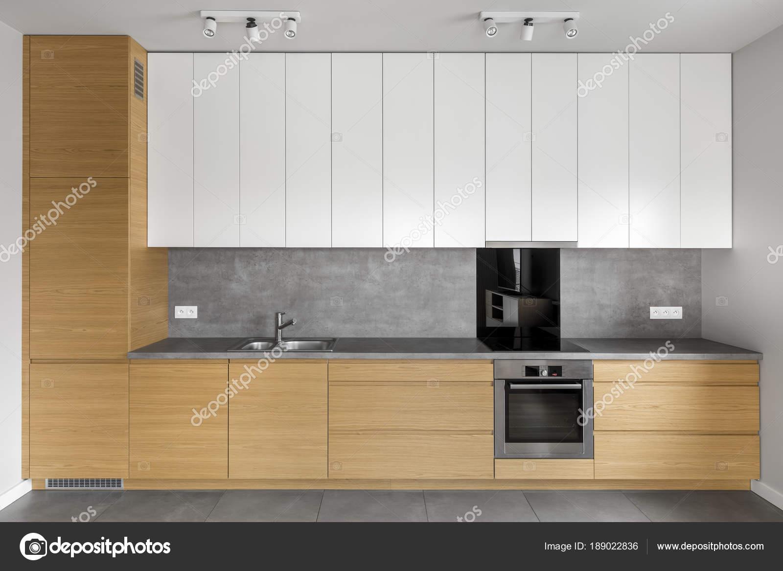 Erfreut Bilder Von Der Küche Mit Grauen Schränken Galerie ...