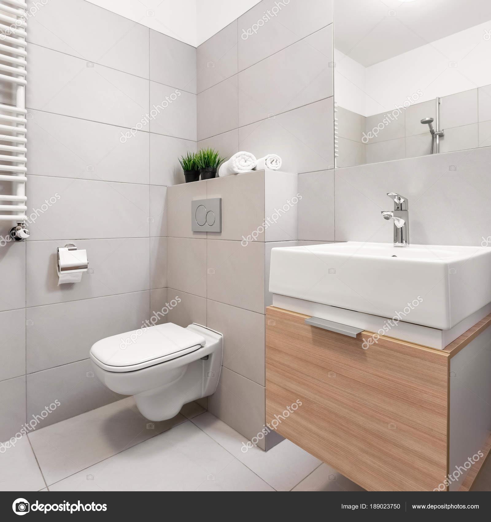 Bagno con WC e lavabo — Foto Stock © in4mal #189023750