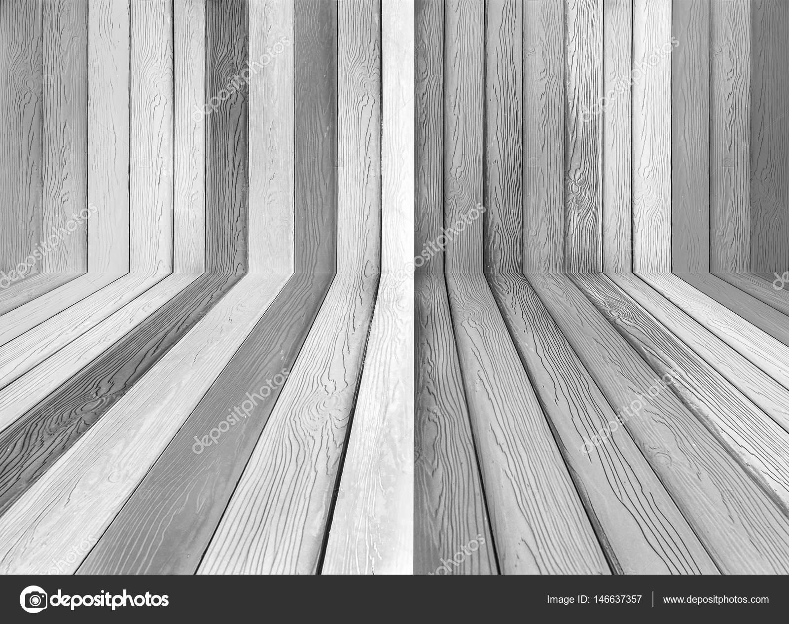 Legno Bianco E Nero : Fondo di struttura di legno bianco e nero u foto stock