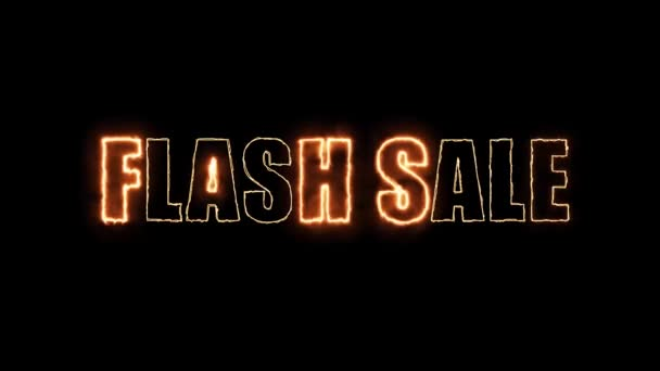 flash sale fire mark glow end offset 2 second  banner and advertisement