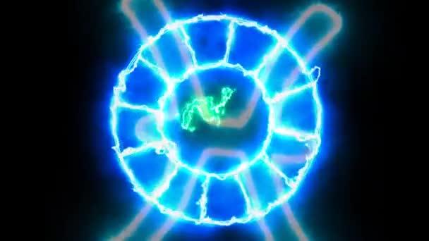 Tierkreis rotieren äußere blinzeln erscheinen beide und zeigen alle 12 Tierkreiszeichen und alle Text-Effekt-Namen