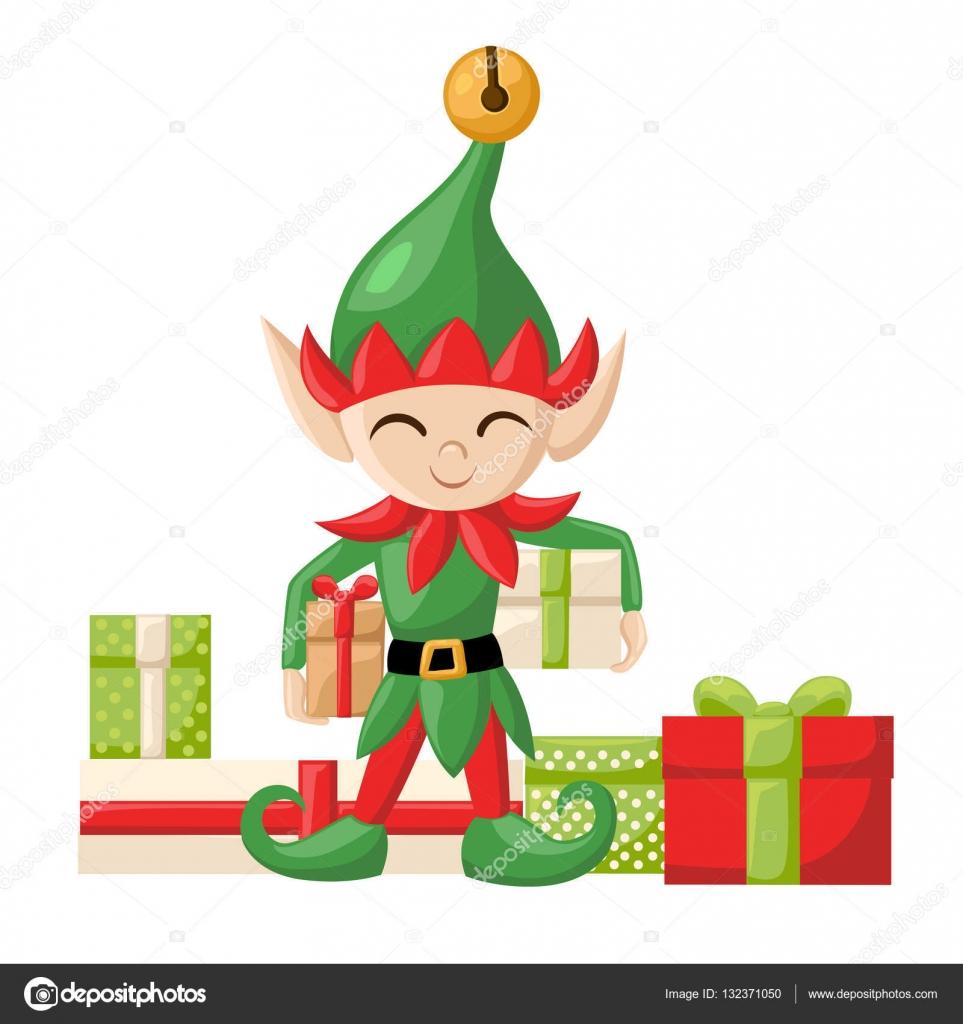 Elfen Weihnachtsmann