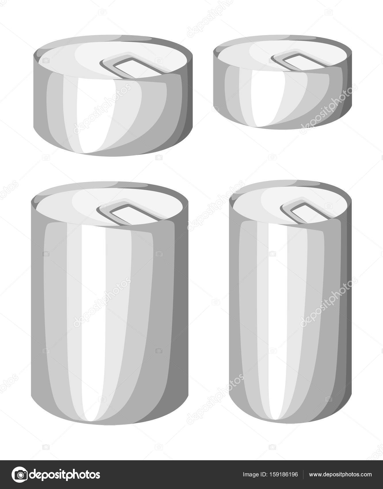 de97e4cf6a Raccolta di vari barattoli in scatola merce alimentare contenitore  metallico negozio di alimentari e prodotti deposito alluminio etichetta  piatta in scatola ...