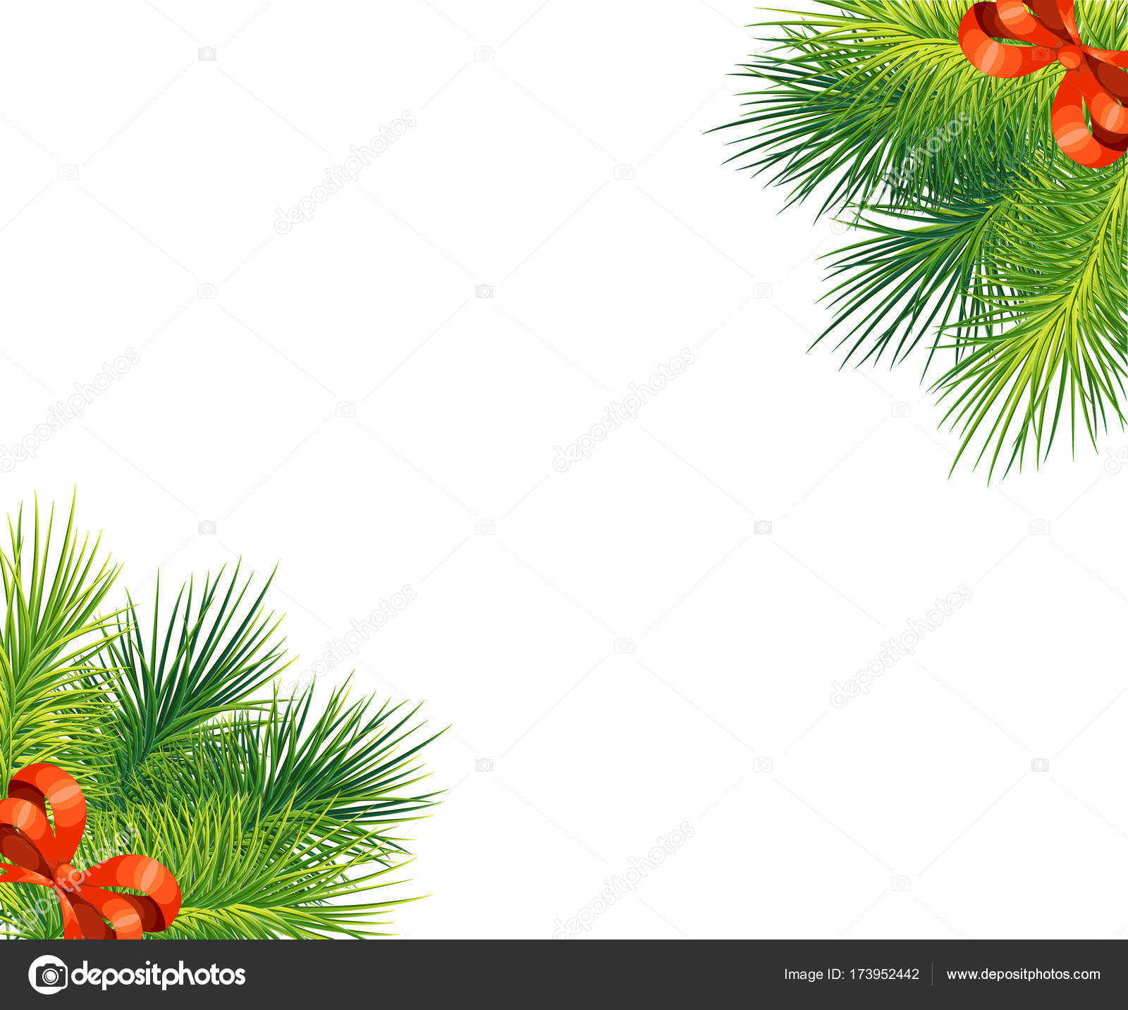 Tree Branch Christmas Tree Ideas Red Bow Branches