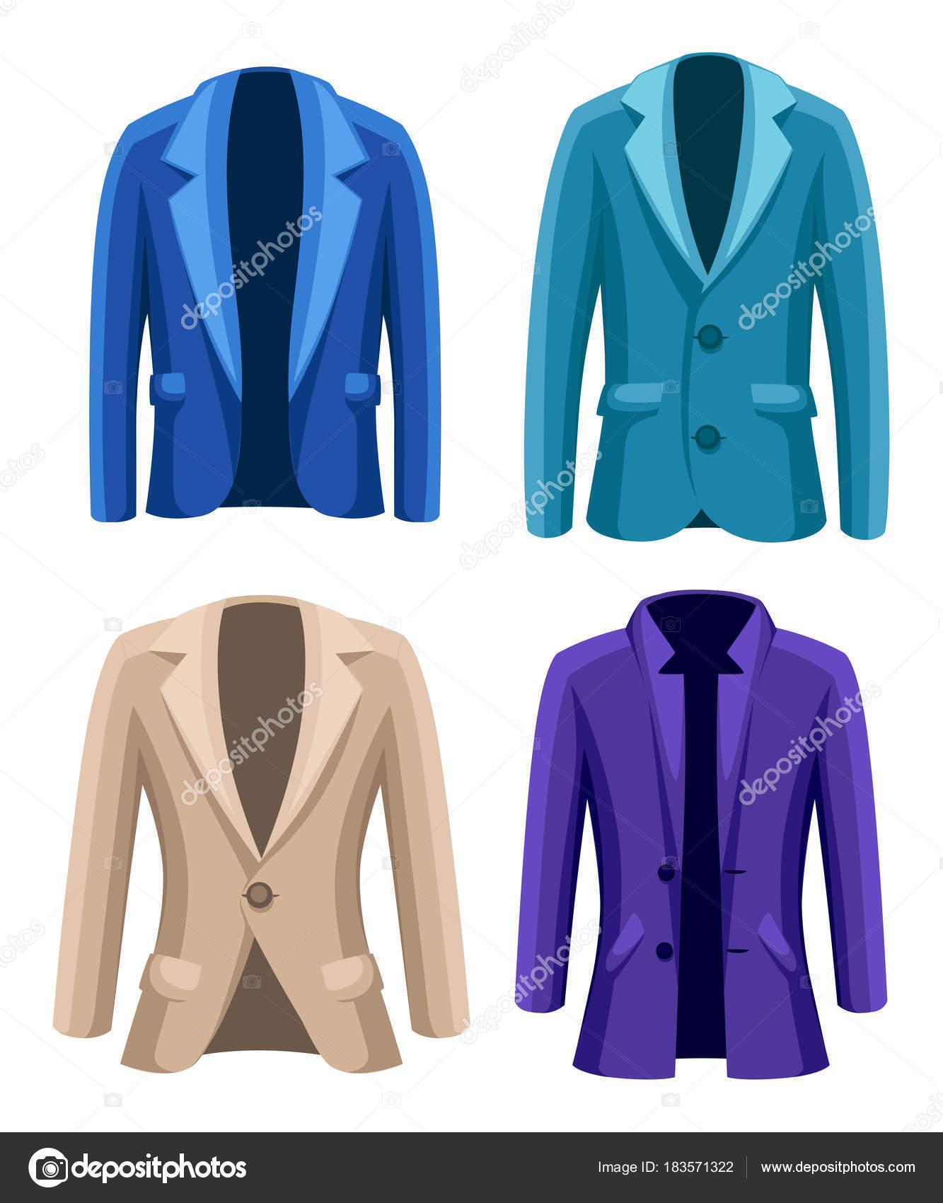 detailed look 08d1c cedd5 Business vestito giacca quattro giacche di diversi colori e ...