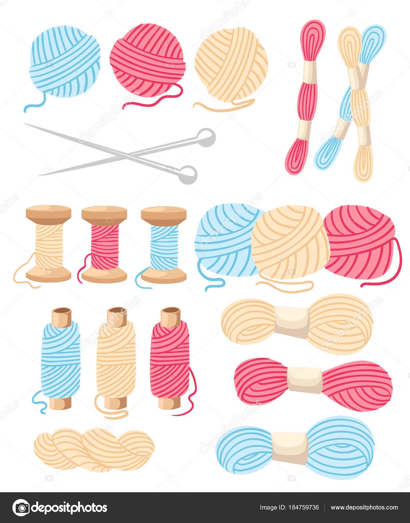 Imágenes: hilos animados | Hilos para coser de Cruz costura conjunto ...