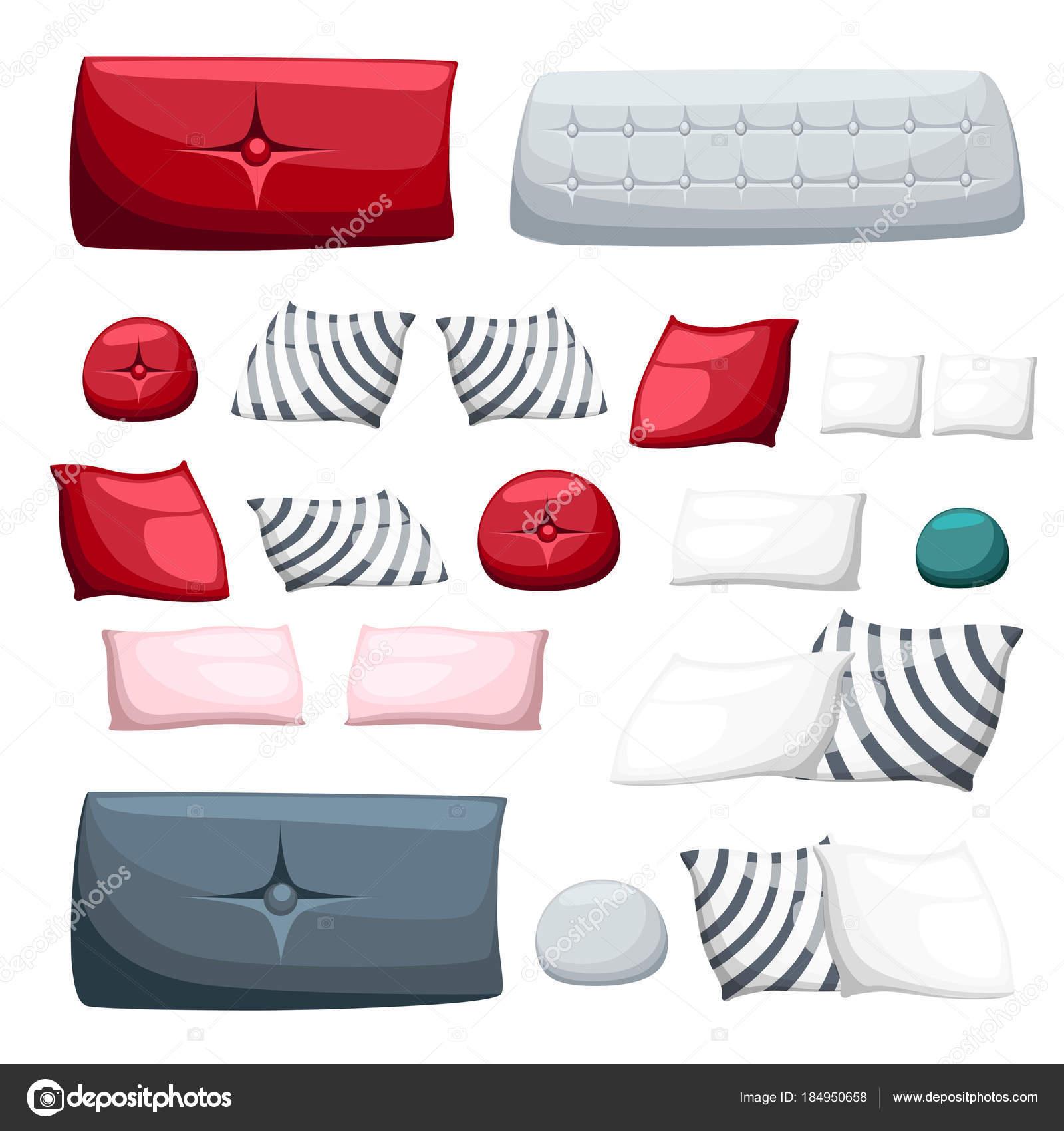 Cojines Con Aplicaciones.Conjunto De Almohadas Multicolores Cojines Decorativos