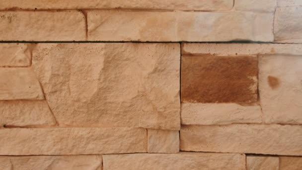 Cihlové zdi textury terakotu. Closeup