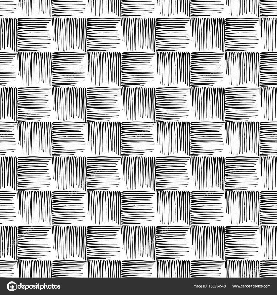 De patrones sin fisuras de la línea de grunge. Estilo textura de la ...
