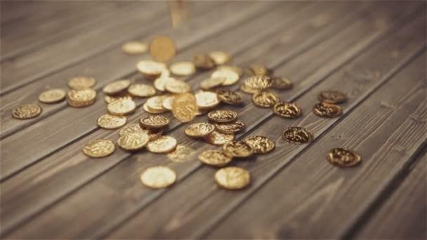 Létající zlaté mince.