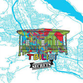 Fotografie Tbilisi Travel Secrets Art Map