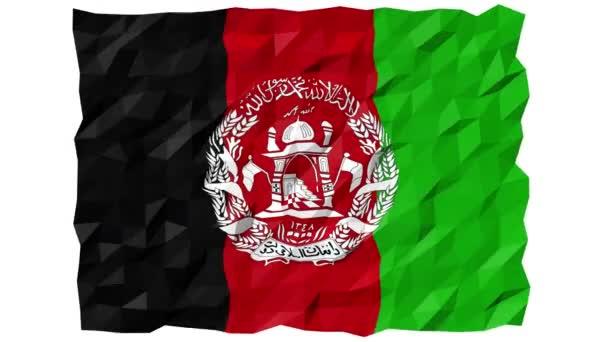 Flag of Afghanistan 3D Wallpaper Animation
