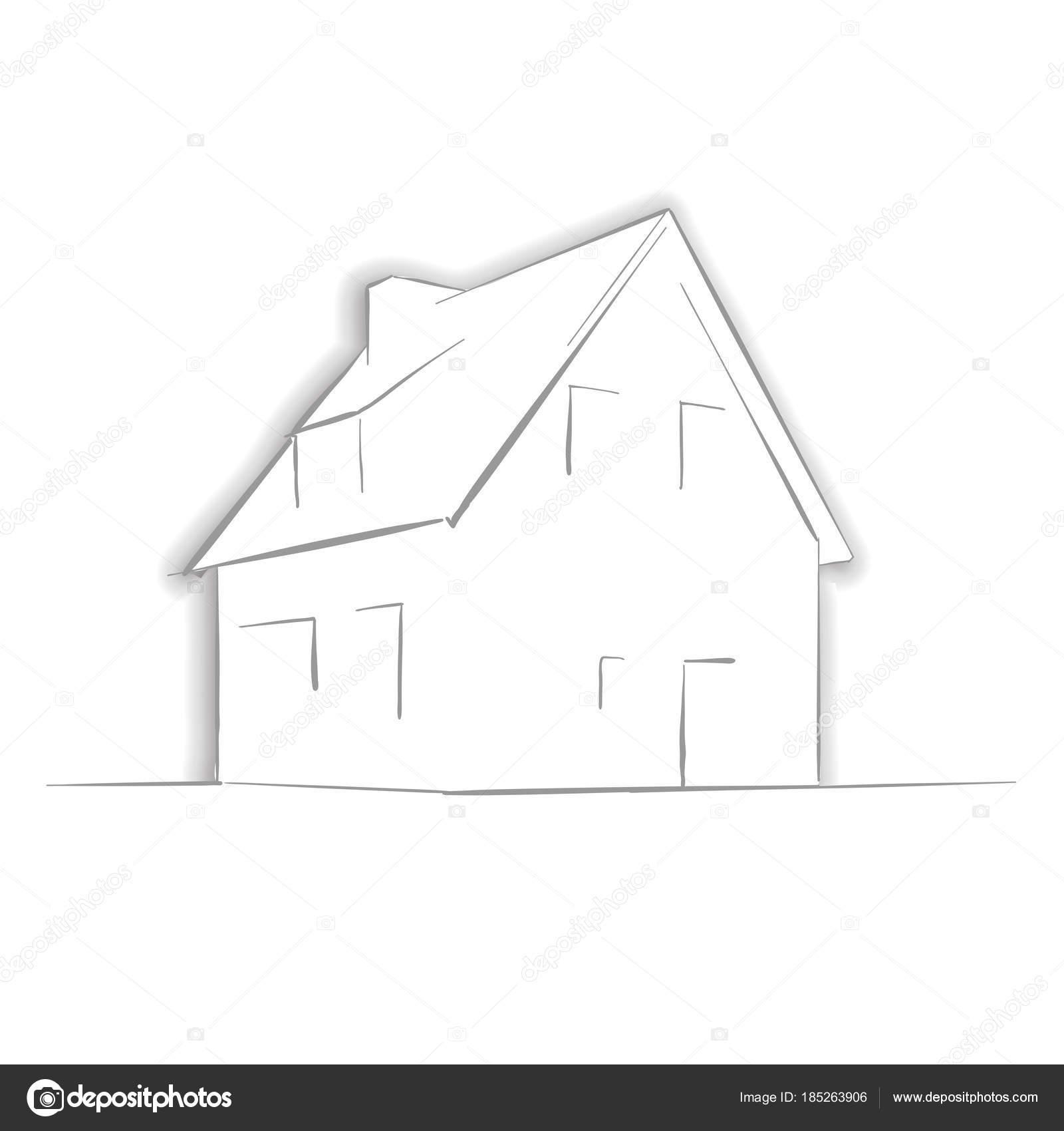 Imágenes Casas Para Dibujar Por Dentro Dibujo De Casa Poco Con La