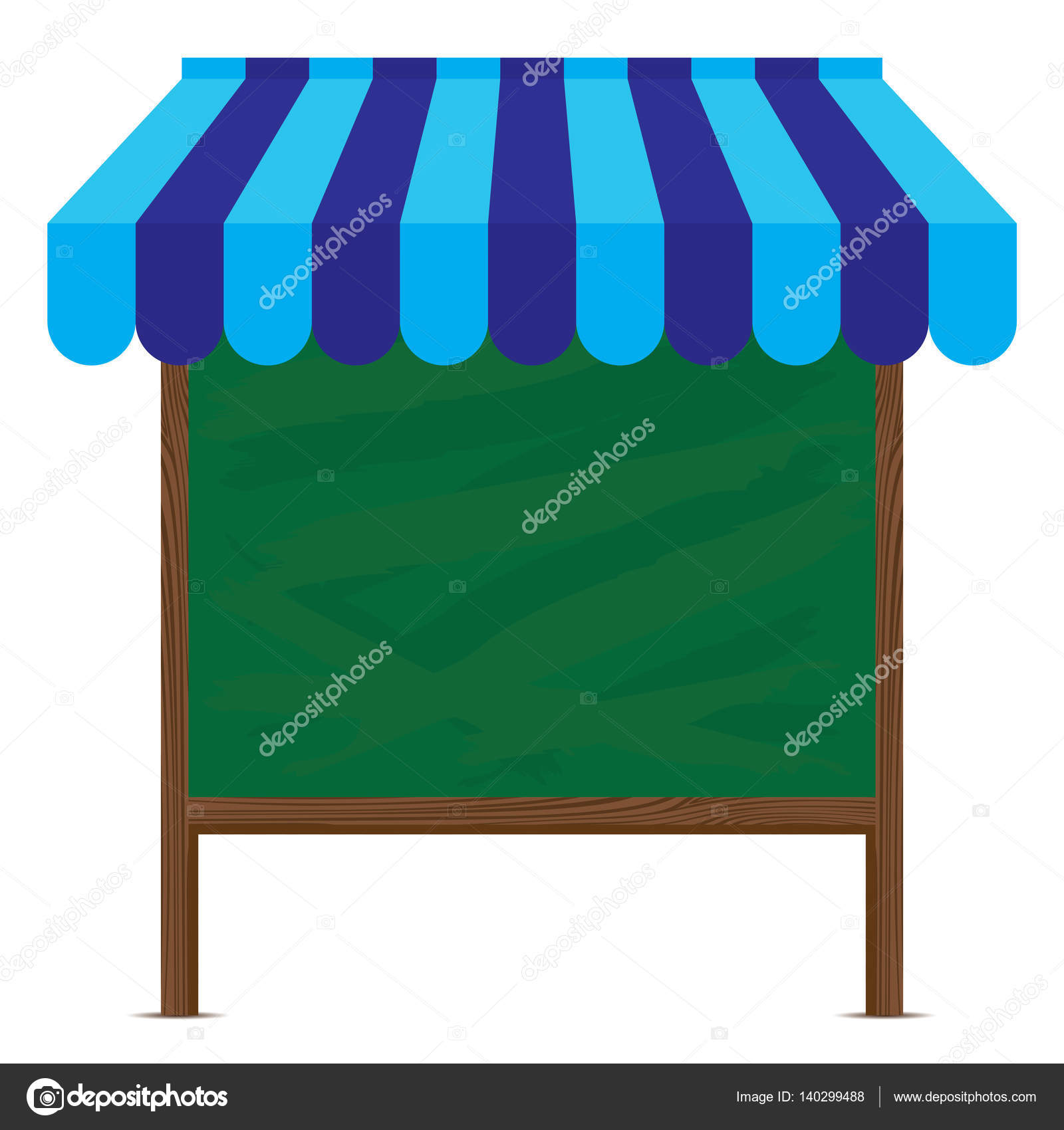 awning of and illustration store blue silhouette with attic vector stock shading photo