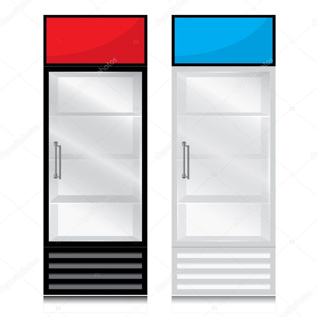 Glas Tür Kühlschrank Türgriff öffnen Sie auf der rechten Seite ...