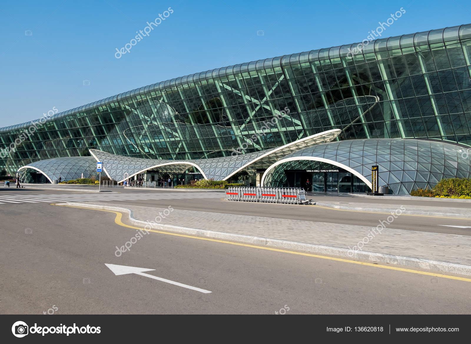 Port Lotniczy Baku Zdjęcie Stockowe Editorial Irkin09