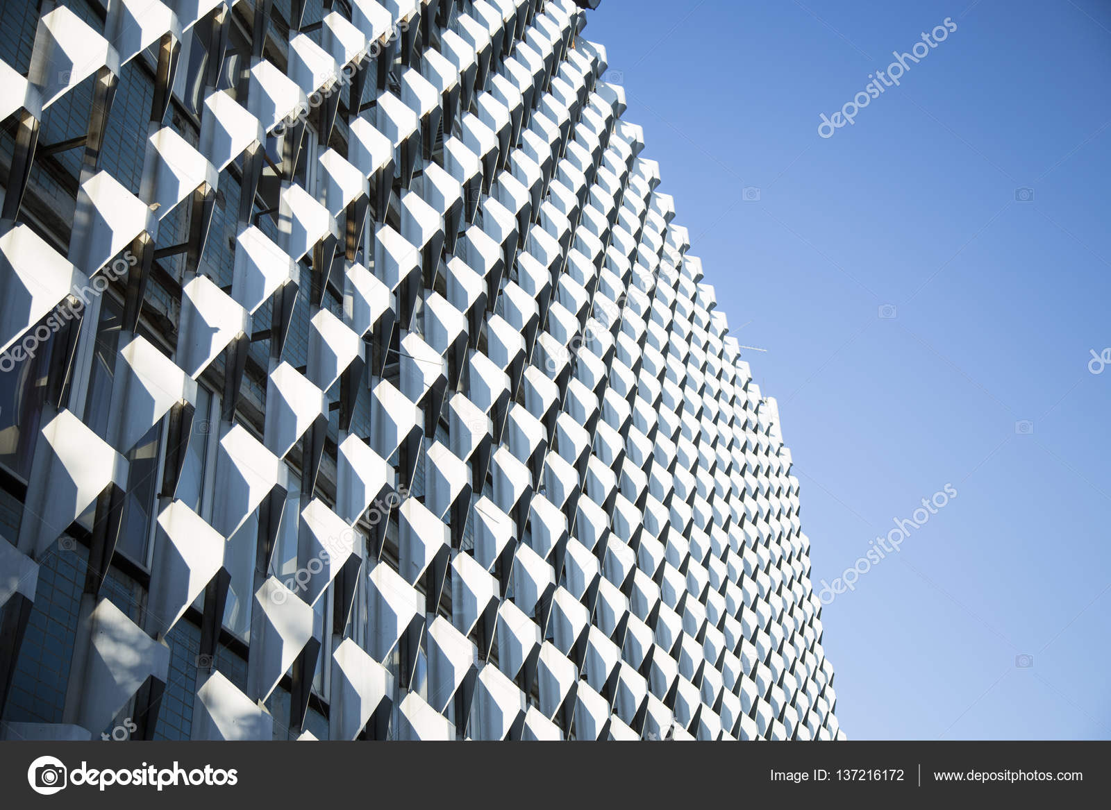 office facades. Modern Office Architecture. Close-up Of Glass Facades \u2014 Stock Photo