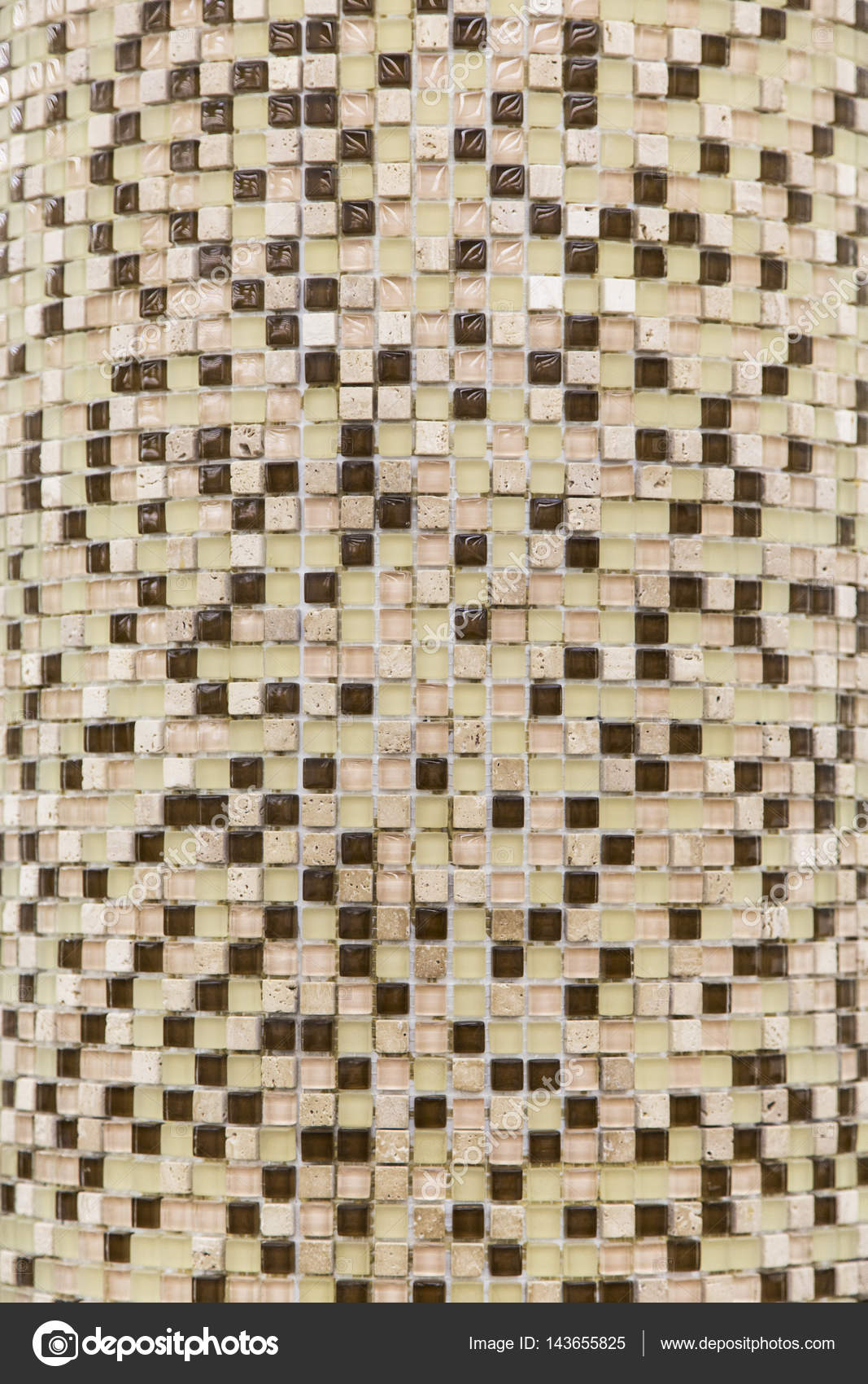 Mosaik Fliesen Hintergrund. Mosaik Dekoration U2014 Stockfoto