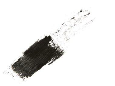 black mascara trace