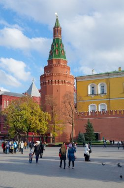 The Corner Arsenal tower of Moscow Kremlin, Russia