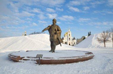 The Monument to Yuri Dolgoruky, Dmitrov, Russia