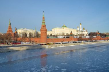 Moscow Kremlin and the Kremlin embankment, Russia