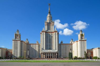 Main building of Lomonosov Moscow State University (MSU)