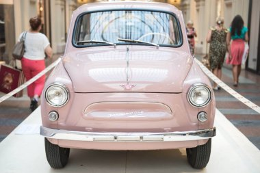 Pink Zaporozhets, Exhibition of retro cars