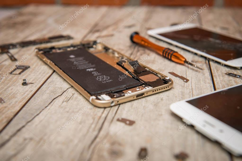 ремонт и восстановление айфонов