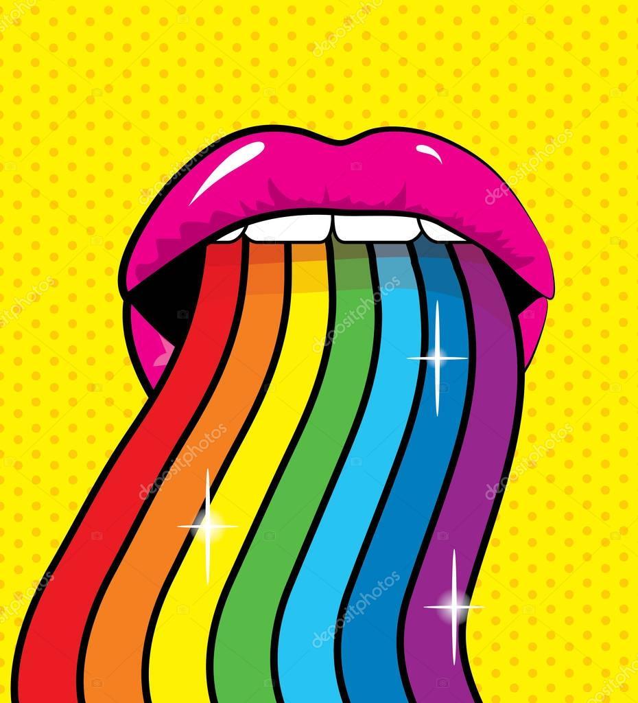 labios de la mujer del arte pop archivo im u00e1genes clipart months of the year clip art monthly calendar