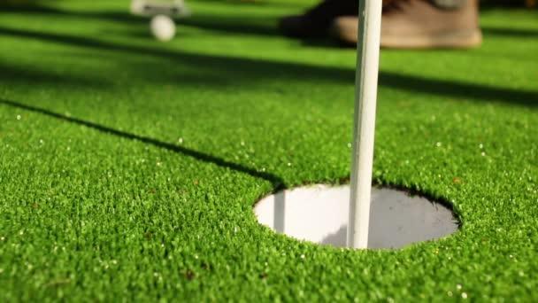 Ideální golfové putt